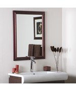 Mahogany Framed Wall Mirror