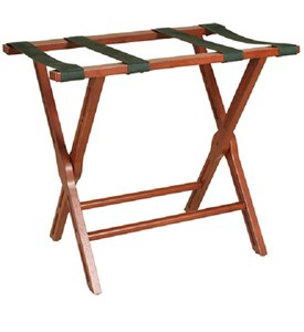 Mahogany Luggage Rack Image