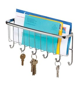 Mail and Key Organizer - Chrome Image