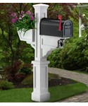 Mailbox Post with Planter - Signature Plus