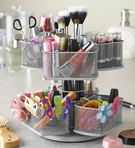 Make-Up Carousel - Silver Image