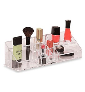 Make Up Organizer with Shelves - Acrylic Image