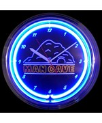 Man Cave Neon Clock by Neonetics