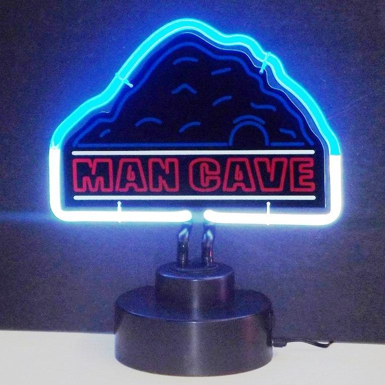 Man Cave Neon Lights : Man cave neon sculpture in light art