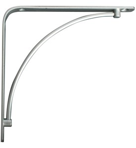 Manchester 6 Inch Shelf Bracket - Satin Nickel Image