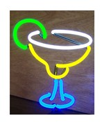 Margarita Neon Sculpture