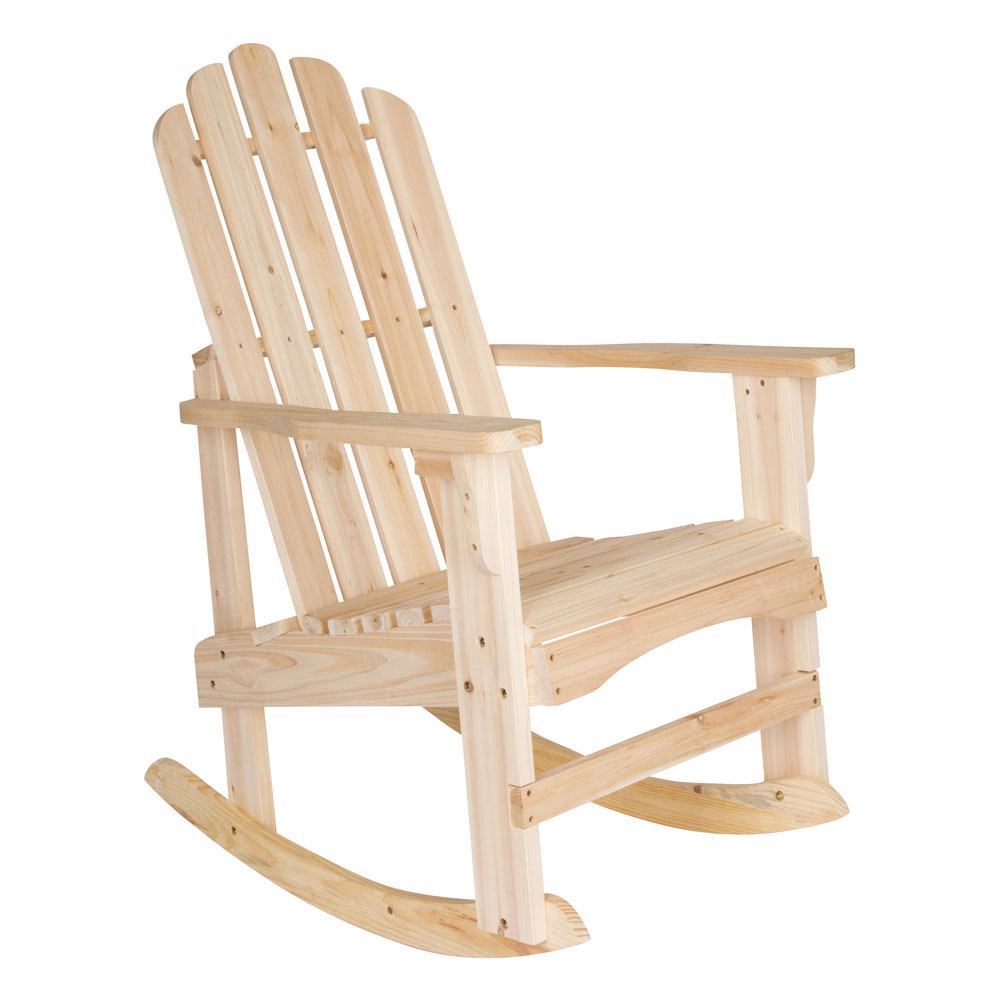 The essential guide to adirondack chairs one kings lane - Rocking Adirondack Chairs Marina Adirondack Rocking Chair In Adirondack Chairs