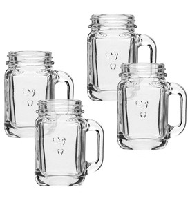 Mason Jar Shot Glasses (Set of 4) Image