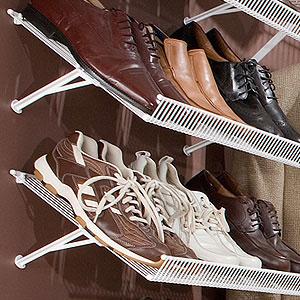 Diy 12 x 12 paper storage splitcoaststampers for Diy wall shoe rack