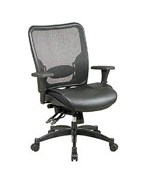 Ergonomic Chair with Built-in Adjustable Lumbar Support