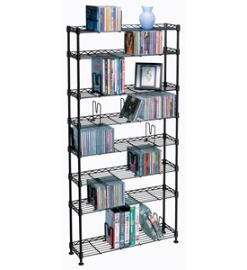 Maxsteel 8 Tier Media Rack Image