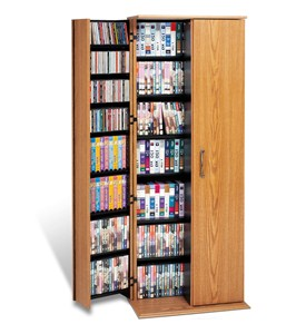 Media Cabinet with Doors Image