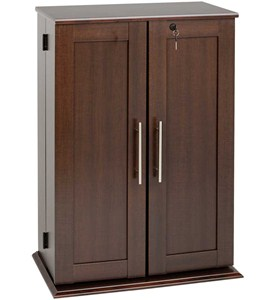 Media Storage Cabinet with Doors Image