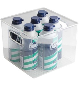 Medium Plastic Storage Bin Image