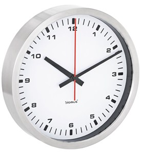 Wall Clock - Stainless Steel Image