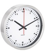 Stainless Steel Wall Clock