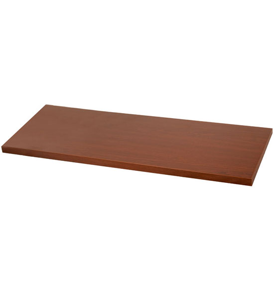 Solid Wood Laminate Shelf   Modern Cherry