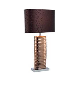 Melted Copper Table Lamp by Lite Source - LS-21281COPPER Image