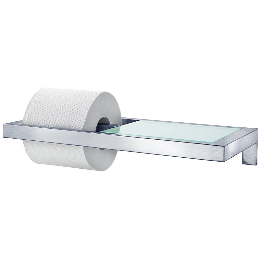 Menoto Toilet Paper Holder With Shelf In Toilet Paper Holders