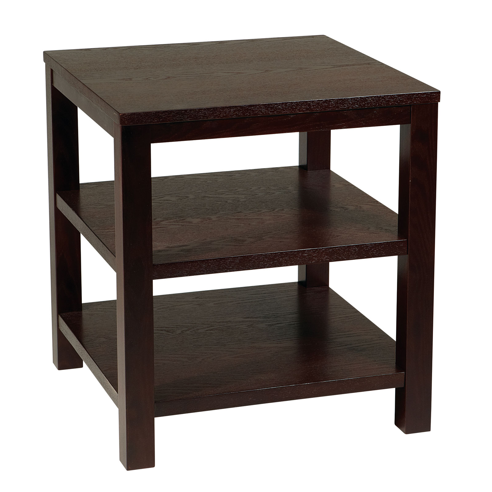 Merge square end table by avenue six in side tables for Square side table