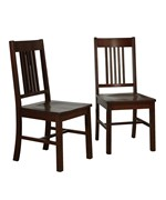 Wood Dining Chairs - Cappuccino