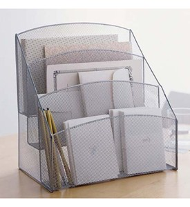 Mesh Desk Pockets Organizer Image