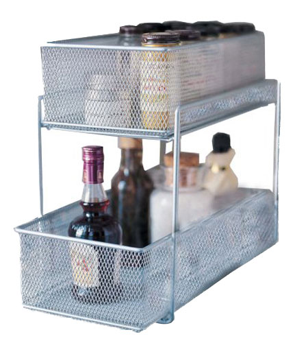 Mesh Sliding Cabinet Baskets In Pull Out Baskets