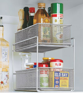 pull out kitchen cabinet storage