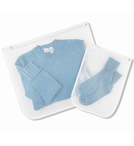 Sweater and Lingerie Mesh Wash Bags (Set of 2) Image