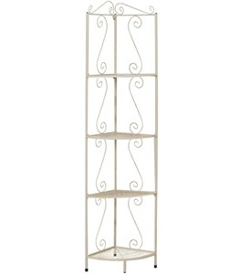 Metal 70 Inch H Corner Display Etagere by Monarch Specialties Image