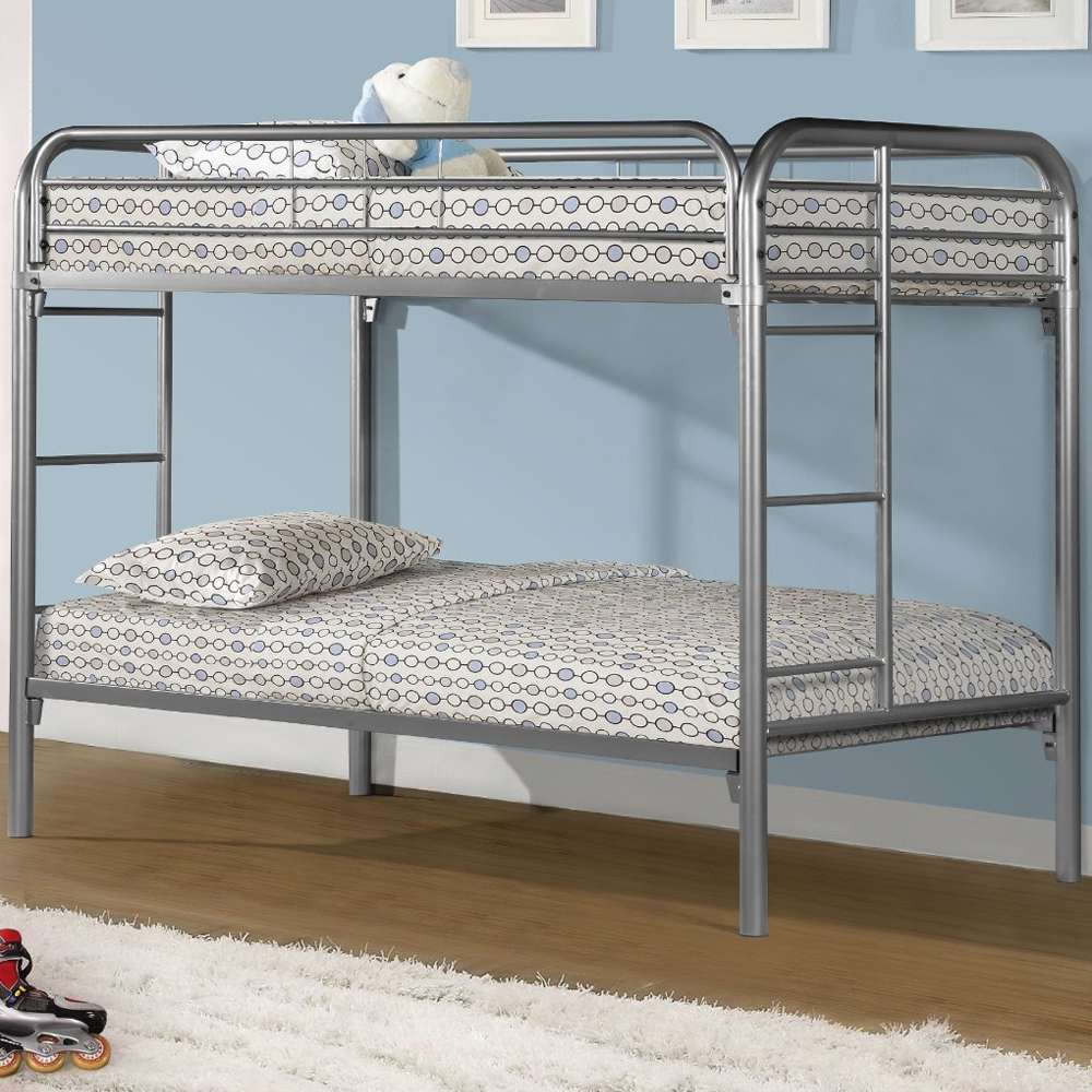 Metal Bunk Bed In Bunk Beds