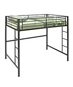 Metal Full Double Loft Bunk Bed