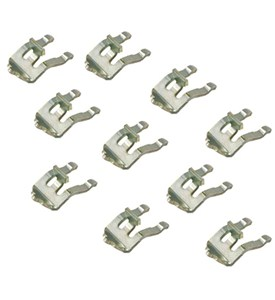 Metal Clips for Wire Support Pole (Set of 10) Image