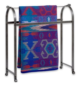 Metal Quilt Rack Image