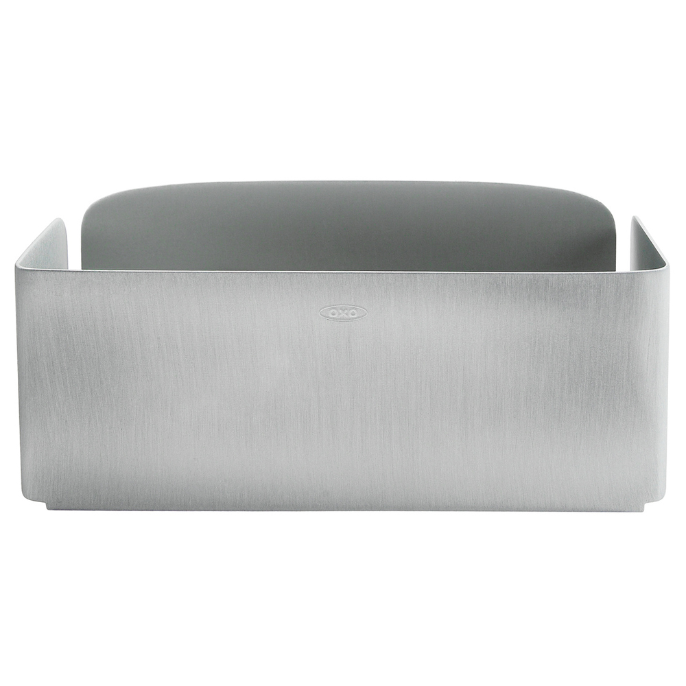 oxo steel collection suction sink basket