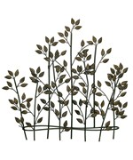 Greenish Brown Metal Wall Decor