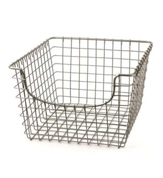 Exceptional ... Metal Wire Basket   Nickel ...
