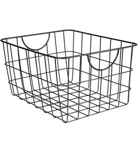 Metal Wire Basket with Handles Image