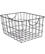 Metal Wire Basket with Handles