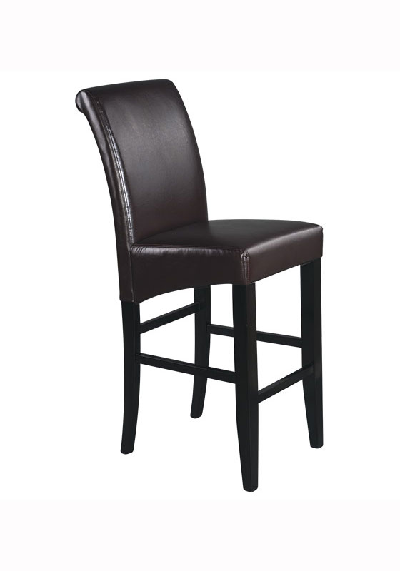 Metro 30 Inch Parsons Barstool By Office Star In Wood Bar