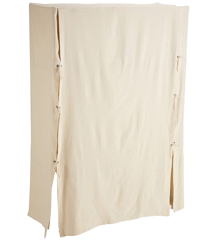 Metro Canvas Wardrobe Cover In Clothing Racks And Wardrobes