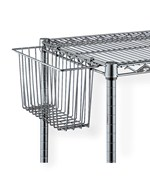 Tall Intermetro Baskets - Chrome
