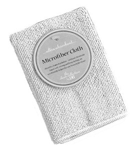 Microfiber Dish Cloth - White Image