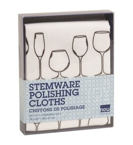 Microfiber Towels - For Stemware (Set of 2) Image