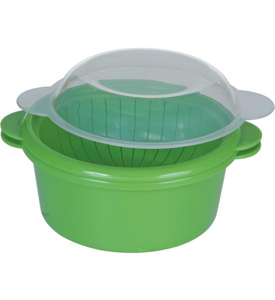 Microwave Vegetable Steamer In Microwave Cookware