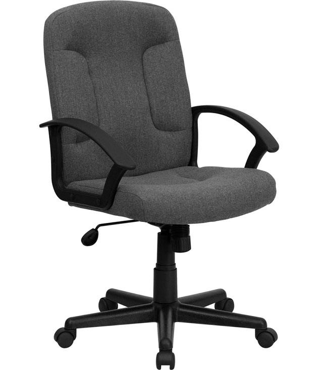 home office office seating office chairs mid back fabric task chair