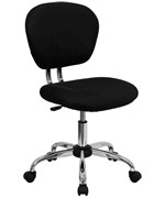 Mid-Back Mesh Task Chair with Chrome Base by Flash Furniture