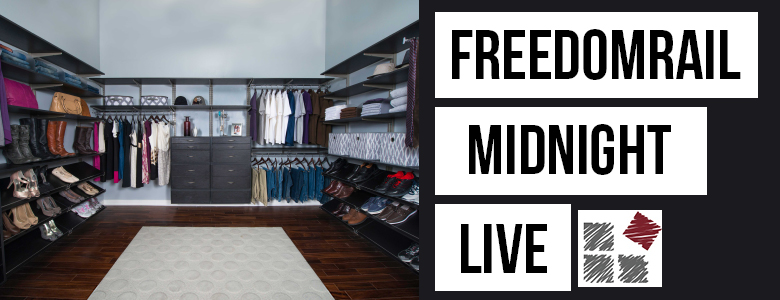 FreedomRail Midnight Live Laminate Collection