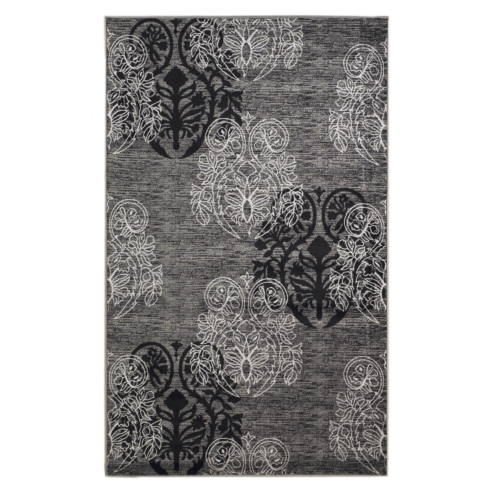 Milan Collection Mn2858 5x7 Area Rug By Linon In Patterned