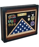 Military Retirement Shadow Box